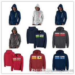 Windbreaker Jacket Removable Liner Australia - 2018 Men Redskins Titans Buccaneers Seahawks 49ers New Full Zip Hoodie Sweater Outdoor Sports Jacket