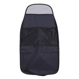Back Seat Storage Organizer Australia - 2X Waterproof Universal Auto Seat Back Organizer Storage Bag Car Seat Back Scuff Dirt Protect Cover For Child Baby Kid kick Mat Pad