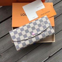 $enCountryForm.capitalKeyWord Australia - popular hot Fashion women handbag clutch purse clutch Genuine leather wallet with box dust bag make up bag hot 5236