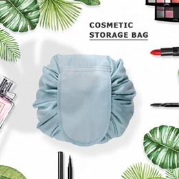 $enCountryForm.capitalKeyWord Australia - New Women bag Color printing design Cosmetic Bag Travel Make Up Organizer Storage Pouch Toiletry Wash Kit Drawstring Makeup Case