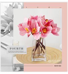 Cloth Bouquet Australia - wedding flowers artificial bouquet bridal floral Fresh-like Flowers Artificial Home Decoration Accessories Decor Fake Flower