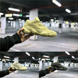 kanye west new tennis shoes 2019 - 2019 New Arrival 500 Blush Desert Rat Kanye West Wave Runner 500 Sneakers Running shoes 700 Athletic Sneaker Luxury desi