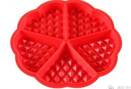 $enCountryForm.capitalKeyWord UK - DIY Heart Shape Waffle Mold 5-Cavity 4-Hold Silicone Oven Pan Baking Cookie Cake Muffin Cooking Tools Kitchen Accessories Supply