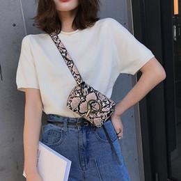 Phone Types Australia - Women Fashion Outdoor Hasp Versatile Serpentine Pattern Type Messenger Bag Chest Waist Phone Bag Great Present HW