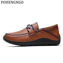 $enCountryForm.capitalKeyWord NZ - 2019 Brand High-quality Men's Loafers Retro Style Men's Casual Comfortable Sports shoes Luxury Gentleman Driving flat Shoes