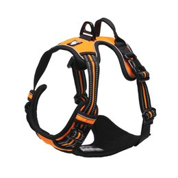 $enCountryForm.capitalKeyWord UK - Truelove Reflective Nylon Dog Harness Vest Adjustable No Pull Dog Harness Safety Vehicular Dogs Collars and Harnesses for Dogs