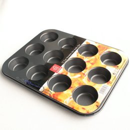 $enCountryForm.capitalKeyWord Australia - 2016 New Nonstick Bakeware 12-Cup Cake Pan Mini Muffin Pan Cake Molds Decorating Tools Kitchen Accessories