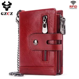 $enCountryForm.capitalKeyWord NZ - Wallet Female Fashion Short Coin Purse Women'S Genuine Leather Wallets Zipper Poucht Rfid Women'S Purses Small Clamp For Money