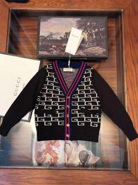 $enCountryForm.capitalKeyWord NZ - autumn sweater kids designer Boy clothes new double-knit cashmere cardigan sweater V-neck design new