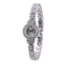 02877304ee3 Ceramic Female Watches UK - Women s alloy set full diamond leaf female  bracelet watch