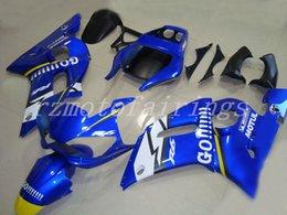 $enCountryForm.capitalKeyWord NZ - New ABS Full motorcycle Fairings Kits Fit For Yamaha YZF 600 R6 98 99 00 01 02 YZF-R6 1998-2002 bodywork set Fairing blue