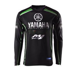 Moto Gp Black Red NZ - 2019 New Racing Clothes for Yamaha Black Long Sleeve Jersey Moto GP T-shirt Racing Wear