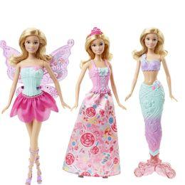212c61978f2 Original Doll Toy Barbie Fairytale Mermaid Dress Up Birthday Set Dhc39  Present Toys Gift Boneca For Girl Q190521