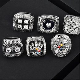 Wholesale Steelers 1974 1975 1978 1979 2005 2008 Championship Ring