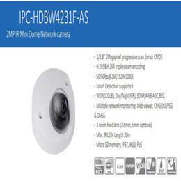 2mp Ip Camera Dome Dahua Australia - In Stock DAHUA Security IP Camera 2MP IR Mini Dome Network camera IP67 with PoE With Logo DH-IPC-HDBW4231F-AS