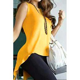 Open Back Tee Australia - Women T-Shirts Summer Fashion Open Back Cross Sleeveless Casual T Shirt Tee Tops For Women