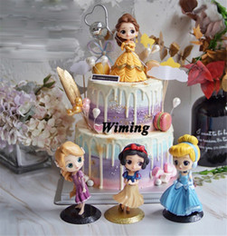 $enCountryForm.capitalKeyWord Australia - cinderella princess birthday cake topper baby children girls toys for kids party decoration birthday decoration cupcake toppers