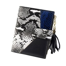 $enCountryForm.capitalKeyWord Australia - Ladies Fshion Wallet Tasse Squarel Leopard Snake Pattern Cute Sexy Wallet Card Holder Coin Package portafogli uomo
