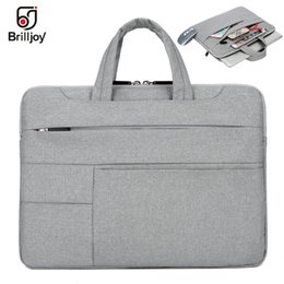 $enCountryForm.capitalKeyWord Australia - Brilljoy Ultra-thin Handbag for Dell Asus Lenovo HP Acer Computer Laptop bag briefcase11 12 13 14 15inch for Macbook Air Pro bag #376241