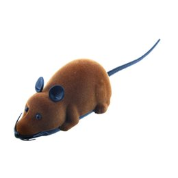 resin mice UK - Fake Rat Toy Wireless Scary Party Simulation Mock RC Mouse Prank Bugs
