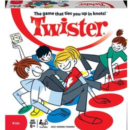 Fun Games Outdoors Australia - Fun Outdoor Sport Toy Twister Moves Game Play Mat Twisting Body Creative Interactive Educational Toys