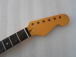 frets for guitars Canada - New 22 frets Maple Neck Rosewood Fingerboard for Strat Electric Guitar New