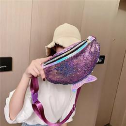$enCountryForm.capitalKeyWord Australia - Cute Fish Scale Mermaid Shoulder Crossbody Bag Fashion Female Pouch Handbag Girl's Purse Daily Clutch Bag Chest pack Pocket