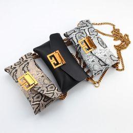 $enCountryForm.capitalKeyWord NZ - 2019 Fashion Mini Cell Phone Bags For Women Snakeskin Pattern Handbag With Chain and Belt B101