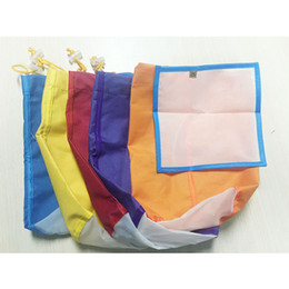 Wholesale Hydroponic Gallon Pack Bubble Bag Herb Filter Bag Plant Residue Filter Bag Multi color Essence Extractor Kit