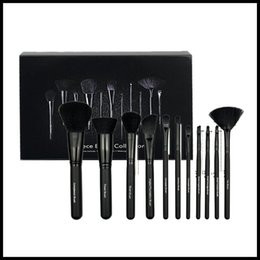 beauty set box Canada - 11pcs ELF Makeup Brushes Set with Box Face Cream Power Foundation Brushes Multipurpose Beauty Cosmetic Tool Brushes Set DHL