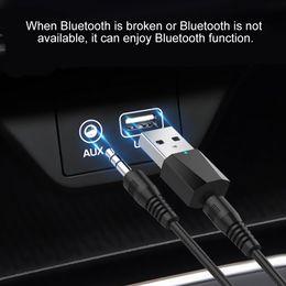 Headset Car Kit Australia - 3.5 mm Bluetooth Adapter Jack USB Bluetooth Car Kit Dongle for Computer Headset 4.2 Audio Handsfree Receiver Speaker