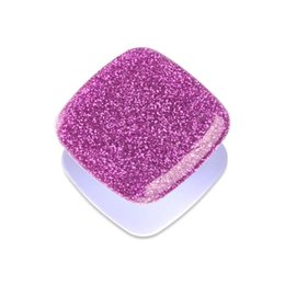 Phone Types Australia - Christmas gift square glitter phone holder phone grips for iPhone android type c women men popular phone stand 100pcs