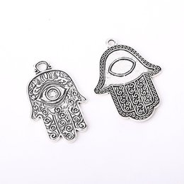 $enCountryForm.capitalKeyWord Australia - 42x35mm 45x28mm Hamsa Hand Evil Eye Spiritual Religious Luck Alloy Charms Pendants Jewelry Supplies DIY Fit Parts Bracelets Necklace Drops