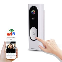 Home security intercom online shopping - Vikewe M13 Intelligent Home Security Remote Monitoring Cameras WiFi Wireless Voice Intercom Doorbell