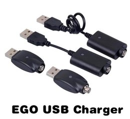 usb charger for vision spinner battery NZ - Vaper Ego USB Charger Electronic Cigarette E Cig Chargers Cable For 510 Ego T C EVOD Twist vision spinner 2 3 mini battery