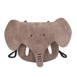 China Cute Elephant Girls Purse Handbag Kids Crossbody Shoulder Bags Mini Wallet Coin Purse Crossbody Bags for Cute Girls Shopping Bag cheap elephant handbags suppliers