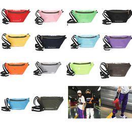 $enCountryForm.capitalKeyWord NZ - Unisex Blet Fanny Pack Designer Waist Bag Crossbody Nylon Chest Bags P Letters Messenger Shoulder Bag Sports Beach Totes 14 Colors P52013