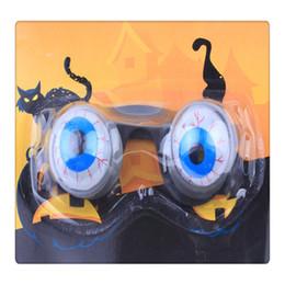 Funny Prank Gifts Australia - Funny Horror Out Eyes Glasses Dropping Eyeball Glasses for Halloween Costume Parties Joke Gift Prank Joke Toy