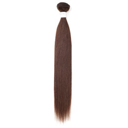 China Hot Sale Fashion Temperament Smooth 18inch Real Human Hair Long Straight Female Solid Color Hair Ponytail suppliers