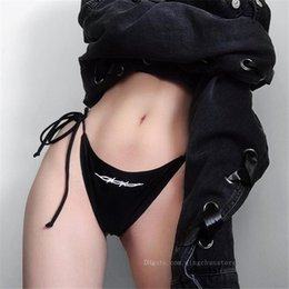 mini micro swimwear women NZ - 2019 New Sexy brazilian Female swimwear String micro mini bikini bottom women String Briefs Thong Panties Underwear