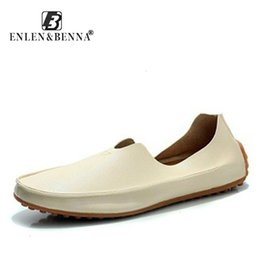 $enCountryForm.capitalKeyWord Australia - Casual Men Shoes Breathable Male Shoes Slip On Summer Fashion Men Leather Shoes Men Flats Mens Leather LoafersMX190909