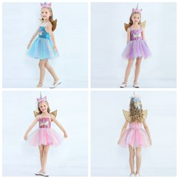 Vestito da ballo per ragazza Neonate Tulle Tutu Dress Bambini Pageant Princess Birthday Party Dress senza maniche Scava fuori Lace-up A-line Dress Costume di Halloween Fancy Dresses Up Performance Pho Abiti