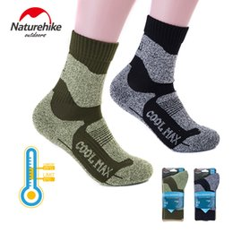Hiking Socks Naturehike Women Men Winter Outdoor Sports Stockings Socks Coolmax Breathable Warm Quick Dry Hiking Skiing Snow Socks