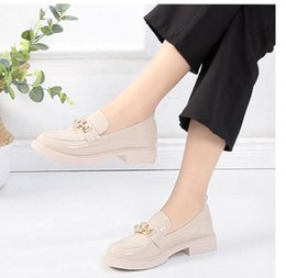 $enCountryForm.capitalKeyWord Australia - 2019 Women's shoes in Spring and Autumn with New style Low heel Square head water drill @27