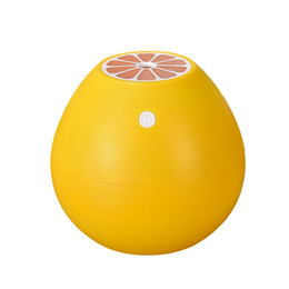 Ultrasound Gifts Australia - DMWD 400MLCute Grapefruit Air Aroma Humidifier USB 5V Ultrasound Water Mist Sprayer Office Essential Oil Diffuser Creative Gift