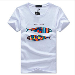 $enCountryForm.capitalKeyWord NZ - 2009 New European and American Foreign Trade Source Large Size Cheap Short Sleeve T-shirt Men's Top Half Sleeve-Pisces