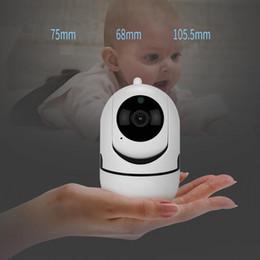 Venta al por mayor de Pista automática 1080P Vigilancia de la cámara Monitor de seguridad WiFi Wireless Mini Smart Alarm CCTV Cámara de interior Monitores del bebé