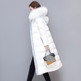 $enCountryForm.capitalKeyWord Australia - 2017 Winter Long Down Jackets Girls Winter Down Coats Womens white duck down Parkas Hooded Fur Collar plus size outerwear QH0848