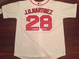 $enCountryForm.capitalKeyWord Australia - Cheap Custom J.D. Martinez Cool Base White jerseys Stitched Retro Mens jerseys Customize any name number