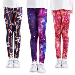 bow print leggings Australia - Free DHL 13 Colors Kids Girls Leggings Baby Grls Christmas Warmer Fall Srping Tights kids Flowers Printing Pants 50-55-60-65 suit for 1-5T